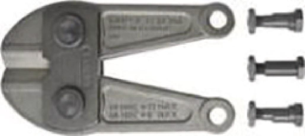Ersatz-Schneidkopf, für Bolzenschneider Länge 880 mm