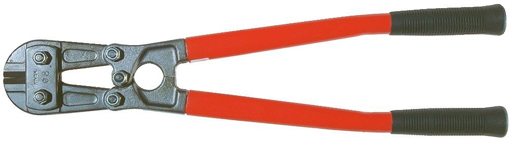 STUBAI Bolzenschere Modell 1129, Länge 780 mm, max Schnittleistung 12 mm
