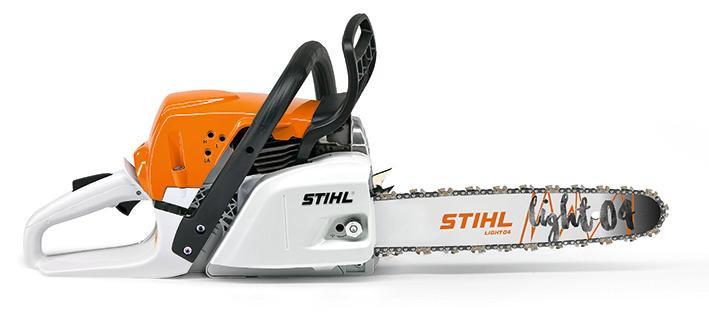 STIHL Benzin-Kettensäge MS 231, 42,6 cm³, 2,0 kW, Schnittlänge 350 mm, 4,9 kg