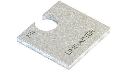 LINDAPTER U-SCHEIBE EDELSTAHLGUSS LS10P2