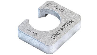 LINDAPTER U-SCHEIBE STAHL FVZ P1S12HDG